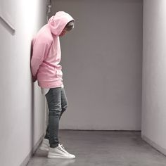 Low Pink Hoodie