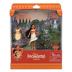 disney parks princess pocahontas fashion play set new edition new with box