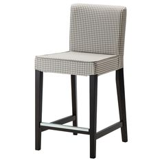 HENRIKSDAL Bar stool with backrest - 66x48 cm - IKEA