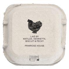 Chicken Egg Box Stamp