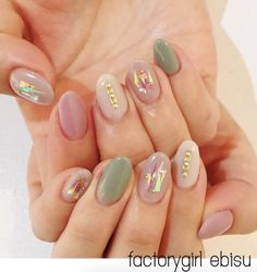 Shimmery design by Factory Girl