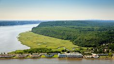 Piermont New York Aerial Photo. Piermont is a cute rivertown along the Hudson River, located in Rockland County, just 30 miles from New York City.