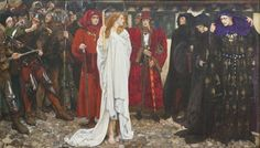 The Penance of Eleanor, Duchess of Gloucester, by Edwin Austin Abbey
