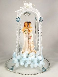 Fairy Lesbian Wedding Cake Topper Wedding stuff Pinterest