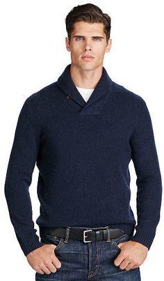Big & Tall Polo Ralph Lauren Merino Wool–Cashmere Sweater