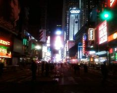 Times Square at 1am, Jan 1, 2013