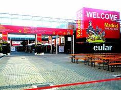#Eular 2013 - Mobilairio de exterior de #JMTAmbiplan para eventos