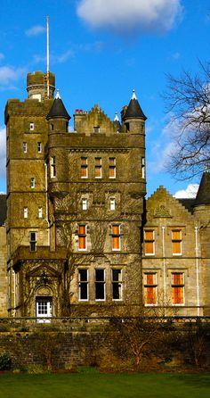 Houston House, In the village of Houston in Renfrewshire, Scotland.