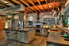 51 Of The Absolute Best Barndominium Pictures On The Internet Copper Farm Sink, Barndominium Pictures, Indoor Arena, Barn Siding, Barn Art, Barn House Plans, Bookcase Storage, Equestrian, New Homes