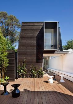 Mary Street residence, St Kilda, Australia. Extension and renovation by Matt Gibson Architecture + Design. Photo: Shannon McGrath
