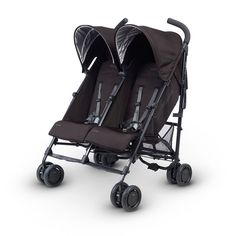 Seeing double? It's the 2016 UPPAbaby G-Link, the first double umbrella stroller from UPPAbaby. Modeled on the ever-popular G-Luxe, its compact design features side-by-side seats and a lightweight design that makes it easy to tote around two children at the same time. Independent seats allow one to snooze while the other looks around and explores. An independent 4-position reclining system adds more comfort to your little ones – even flat, making it ideal for even newborns. It also includes…
