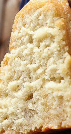 Rich vanilla pound cake recipe