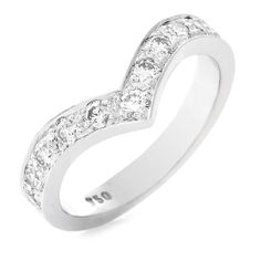 Always and Forever Half Eternity Ring, Take A Breath, Always And Forever, Girls Best Friend, Diamond Rings, White Gold, Jewels, Engagement Rings, Beautiful