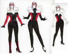 Scarlet With Redesign Step 4 - Kevin Wada