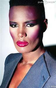grace jones haircut 80s hair we could probably style his hair this way he 4907