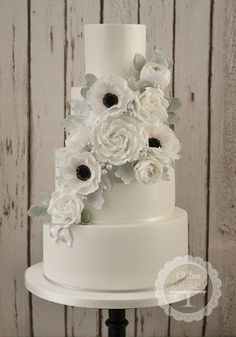 award winning white wedding cake recipe 1000 ideas about white anemone on anemone 10972