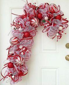 Fun Candy Cane Christmas Decor Ideas For Your Home