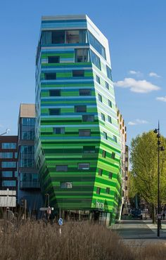 The Hipark Hotel in Paris designed by Manuelle Gautrand Architecture