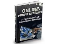 Online Profit Streams. Download free at TubaLoad.com Who else wants to make multiple streams of income online using these 21 proven ways methods? This is the no non-sense approach to making money online! simply choose a method, implement and start making money!