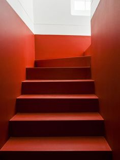 Stairs red