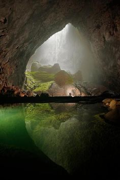 Just wow, need to visit Vietnam! >>>Hang Son Doong cave in Vietnam, Photo by Carsten Peter. Places Around The World, The Places Youll Go, Places To See, What A Wonderful World, Beautiful World, Beautiful Places, Amazing Places, Amazing Things, Beautiful Beach
