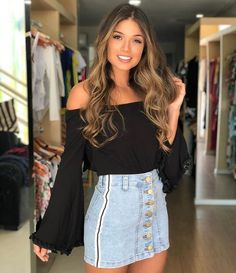 See other great ideas about Gorgeous clothing, Leap summer season styles and Maximum bridal gowns. Casual Skirt Outfits, Basic Outfits, Indie Outfits, Cool Outfits, Winter Fashion Outfits, Summer Outfits, Summer Skirts, Casual Night Out Outfit, Girl Fashion