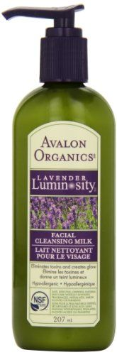 Cleansing Milk, Facial Cleansing, Avalon Organics, Glow, Permed Hairstyles, Hair Care, Lavender, Hair Perms, Bottle