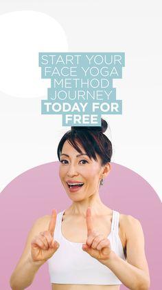 Begin today for free! #facialexercises #faceyoga