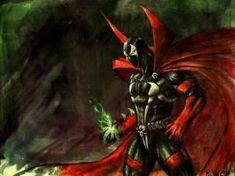 spawn by PitBOTTOM Cd Art, Spawn, Marvel Dc, Jay, Hero, Wallpapers, Deviantart, Comics, Painting