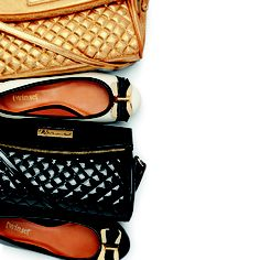 Sapatilhas Twin Set e Bolsas WJ #purse #shoes #black #golden