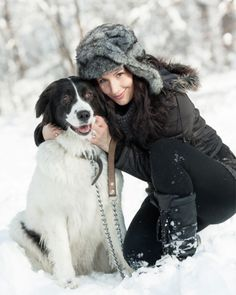 Winter travel with your dog