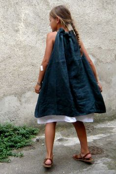 stylish, styles, Display look. Little Girl Dresses, Girls Dresses, Kids Clothes Sale, Kids Clothing, Girl Dress Patterns, Linen Dresses, Simple Dresses, Baby Dress, Kids Outfits
