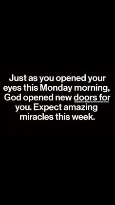 I keep seeing things like this pop up today, and it's the second one that says Monday. It's Monday o_O