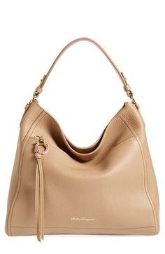 63d44ca878 Salvatore Ferragamo  Ally  Hobo available at  Nordstrom Beautiful Handbags