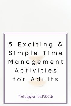 Effective time management is not just about productivity at work. Many other everyday habits can turn you into a time management ninja. When you take care of these 5 simple activities you will see your time management skills improve with ease. Personal Goal Setting, Personal Goals, Setting Goals, Time Management Activities, Time Management Skills, Work Life Balance Tips, Effective Time Management, Drive Time, Activities For Adults