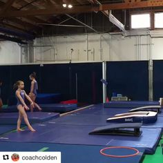 """Playing with some new beam mounts. I love this one!"" -Koach Colden #theklubgymnastics #klubgymnastics #theklubgym #klubgym #theklub #gymnastics #nela #elysianvalley #silverlake #gymnastics  #tkg #frogtown  #la #losangeles #balancebeam #workoutwednesday #thebeam #elitegymnast #balance #strength #selfesteem #success #gymnast #gymnasts https://video.buffer.com/v/5a970770fea4e2ea3cd5d5a6"