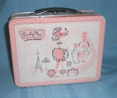 poodle lunch box I have this one in my salon!