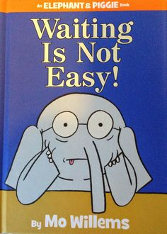 Order the book, Waiting Is Not Easy! (an Elephant and Piggie Book) [Hardcover] in bulk, at wholesale prices. ISBN by Mo Willems Great Books, New Books, Library Books, Library Ideas, Class Library, Free Library, Easy Reader, Mo Willems, Author Studies