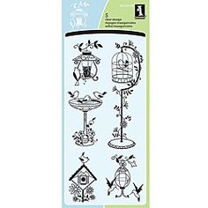 Inkadinkado 'For The Birds ' Clear Stamps