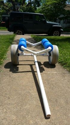 Diy kayak cart                                                                                                                                                                                 More #kayakideas #kayakrack