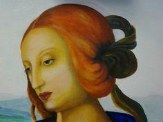 Pintura al óleo.