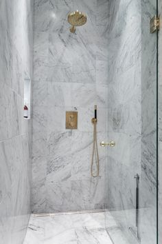 Marble and aged brass