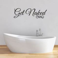 Get Bathroom Wall Sticker Waterproof Vinyl Adhesive Art Decor Decal