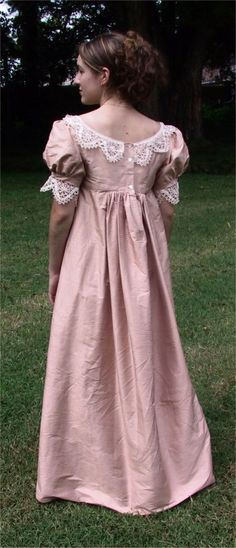Regency Gown Pattern | Sense & Sensibility Patterns