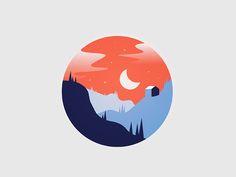 Cabin in the woods by Josh Warren