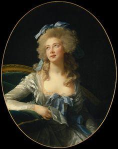 Madame Grand by Elisabeth Louise Vigee Le Brun, 1783
