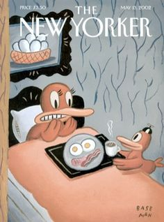 cMag141 - The New Yorker Magazine cover by Gary Baseman / May 2002
