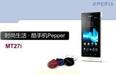 Primera imagen del Sony MT27i, alias Pepper http://www.xatakandroid.com/p/83410
