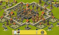 War of Mercenaries is a Facebook based social game, Real Time Strategy Game, RTS, city building with tower-defence elements, free to play on Facebook, from Peak Games.