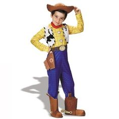 "DISNEY licensed ""Disney Toy Story -Woody Deluxe Toddler / Child Costume"" (3T-4T)"